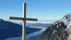 David Levin Blog - Mount Roberts with cross